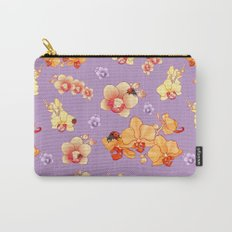 Orchids & Ladybirds Carry-All Pouch