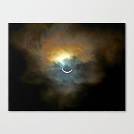 Solar Eclipse II Canvas Print