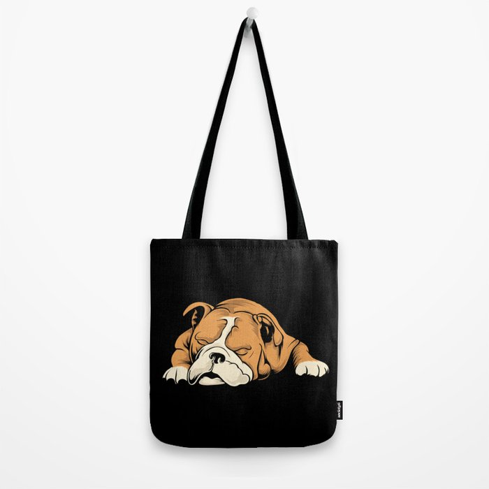 English Bulldog | Dog Lover Tote Bag