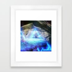 research - internal affairs. Framed Art Print