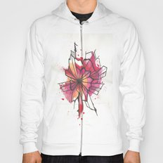Pink and yellow Flower Explosion  Hoody
