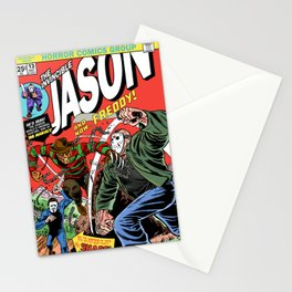 The Invincible Jason vs Freddy Stationery Cards