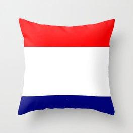 Flag of Netherlands 2 -pays bas, holland,Dutch,Nederland,Amsterdam, rembrandt,vermeer. Throw Pillow