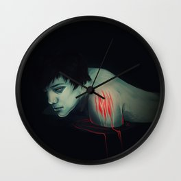 raw Wall Clock