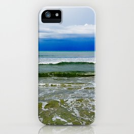 Green tides iPhone Case