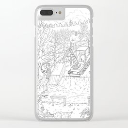 beegarden.works 013 Clear iPhone Case
