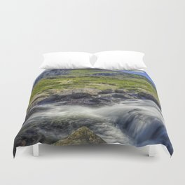 Path To Tryfan Duvet Cover