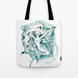 Mermaid Sketch Tote Bag