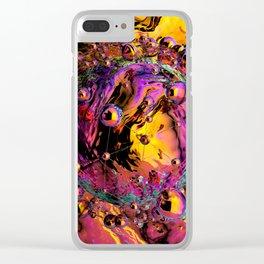 Liquid dream Clear iPhone Case