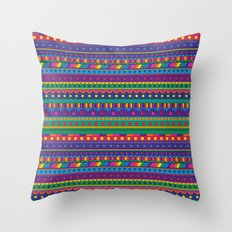 Cosmic Weavings Throw Pillow