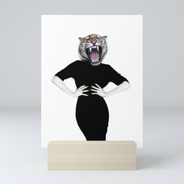 Wilma wildcat Mini Art Print