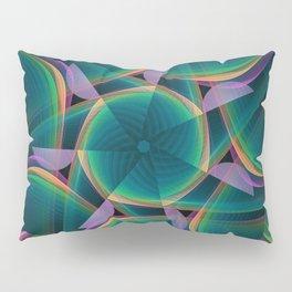 Tumbling patterns, fractal abstract art Pillow Sham