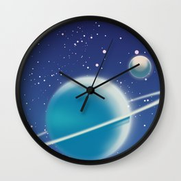 To The Stars! Wall Clock