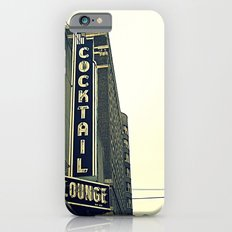 Cocktail ~ chicago vintage sign iPhone 6s Slim Case
