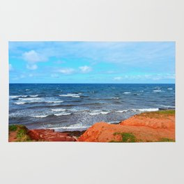 Rolling Waves in East Point PEI Rug
