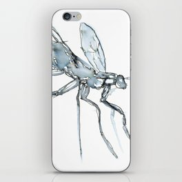 Mosquito, Watercolor iPhone Skin