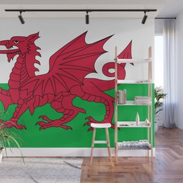 Welsh Flag of Wales Wall Mural
