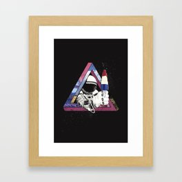 Freakanaut Framed Art Print