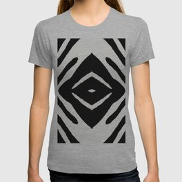 Black Ink Medallion by Juul T-shirt