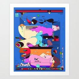 Sushi Night Art Print