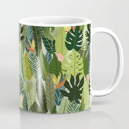 Green On Pattern Coffee Mug