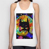 bat Tank Tops featuring BAT by Saundra Myles