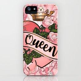Wonderland - Queen of Hearts iPhone Case
