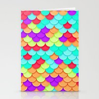 scales Stationery Cards featuring Scales by White Wolf Wizard