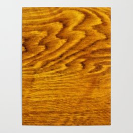 This is not wood Poster