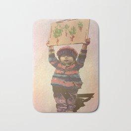 Mensaje de niño Bath Mat