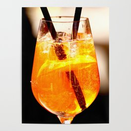 Cheers! Cocktail Drink #decor #society6 Poster