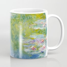 water lilies monet panel Coffee Mug