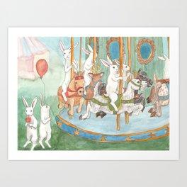 Carosel Art Print