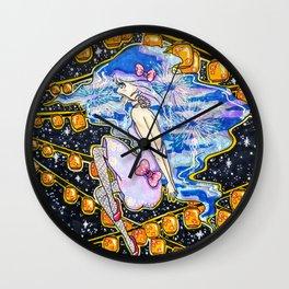 Starlight Festival Wall Clock