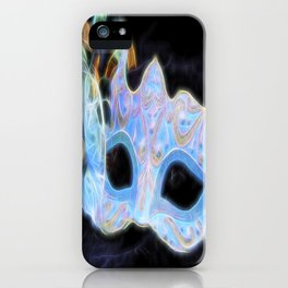Glowing Mask Of Intrigue iPhone Case