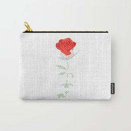 Fading red rose Carry-All Pouch