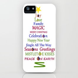 Holiday Tree iPhone Case
