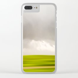 Stormy May Day Clear iPhone Case