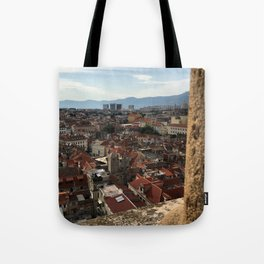 View From The Cathedral of Saint Domnius Tote Bag