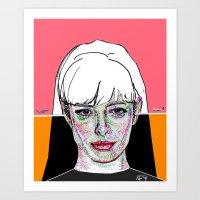 Jane Margolis BREAKING BAD Art Print