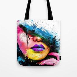 FACE--ART Tote Bag