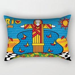 Cristo Rio Rectangular Pillow