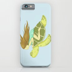 The Girl and the Turtle Slim Case iPhone 6s