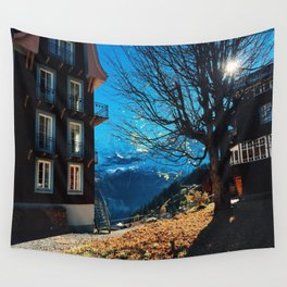 Swiss Town Wall Tapestry