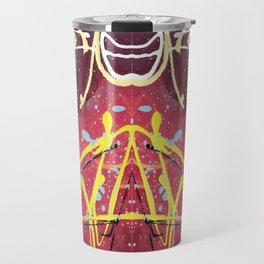 Unicorn Magic Gone Abstract Travel Mug