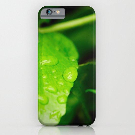 Catching raindrops iPhone & iPod Case