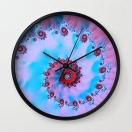 Blue Snail Wall Clock