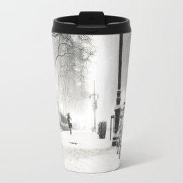 Snow - New York City - Bryant Park Travel Mug