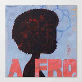 A FRO Canvas Print