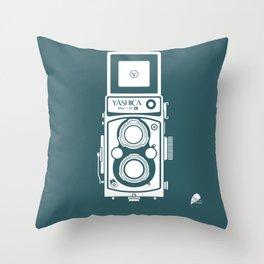 Yashica MAT 124G Camera Throw Pillow